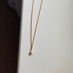 """Kate Spade initial """"D"""" necklace"""